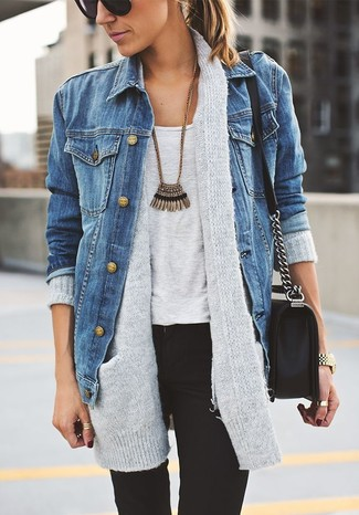 Jeans jacke outfit