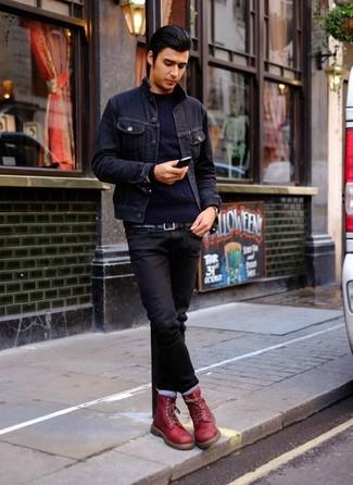 dunkelblauer Pullover von LTB Jeans
