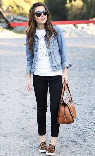 schwarze enge Jeans von H.I.S