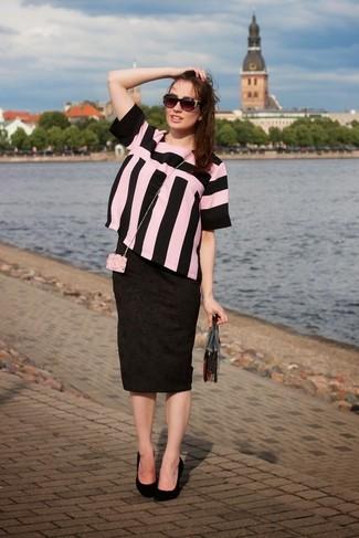 schwarze verzierte Sonnenbrille von Miu Miu