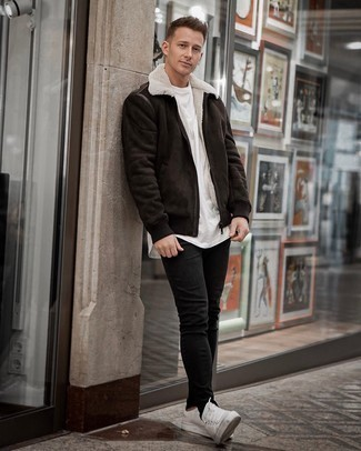 dunkelbraune Jacke von Dickies