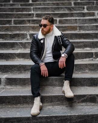 schwarze Jacke von Dickies