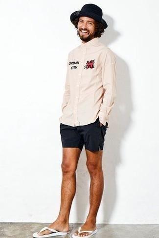 weiße Zehensandalen von adidas