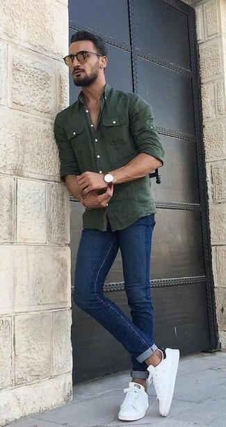 dunkelblaue Jeans von Selected Homme