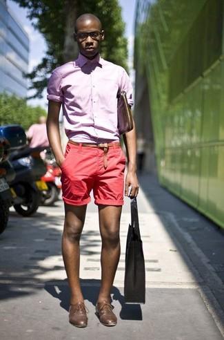 rosa Langarmhemd von Seidensticker