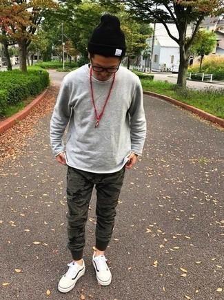 camouflage jogginghose kombinieren 15 outfits für herren trends 2020 | herrenmode | lookastic