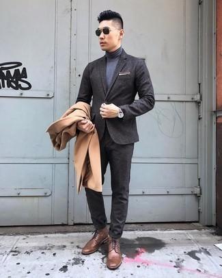 dunkelgrauer Pullover von Brooks Brothers