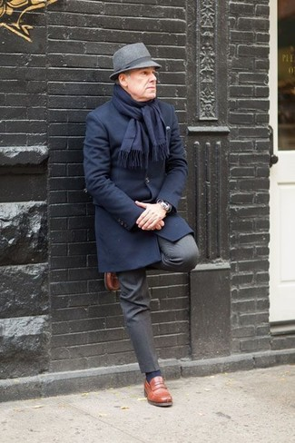 dunkelgraue Anzughose von s.Oliver BLACK LABEL