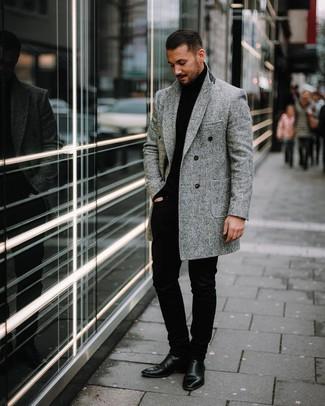 schwarzer Pullover von Hilfiger Denim
