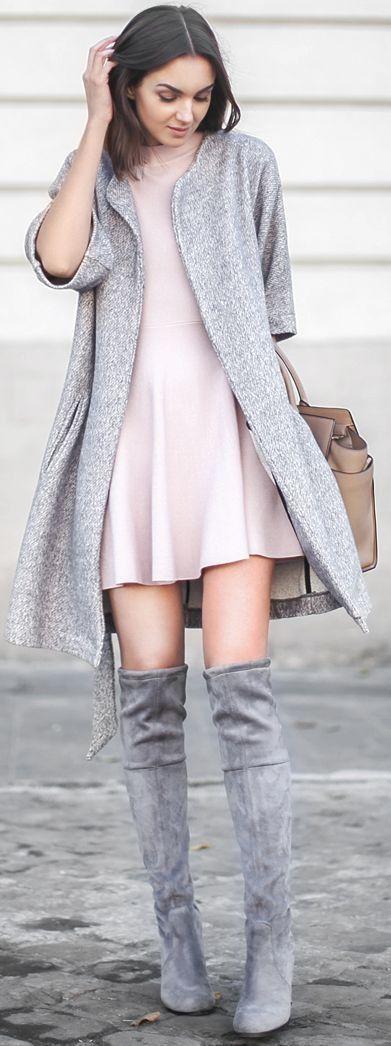 Wildleder mantel rosa