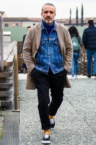 blauer Pullover von Maerz