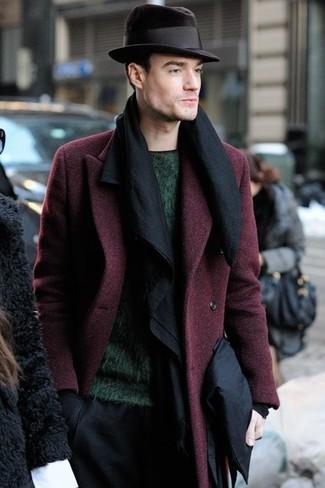 schwarzer Schal von Dolce & Gabbana