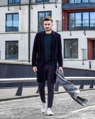 dunkeltürkiser Pullover von Tommy Hilfiger