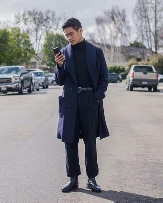 dunkelblauer Pullover von Boss Orange