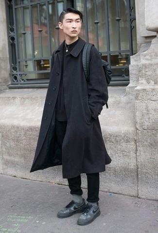 schwarzer Pullover von BLEND