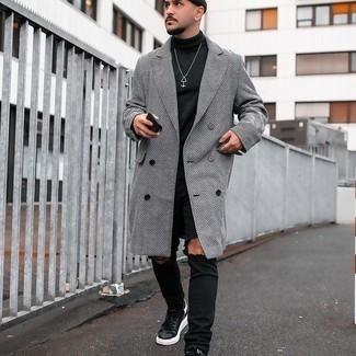 schwarzer Pullover von TRUSSARDI JEANS by Trussardi