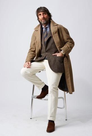 dunkelbraune Jacke von Schott NYC
