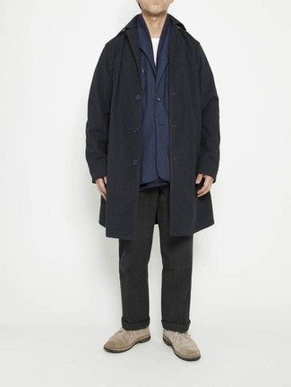 dunkelblaue Jacke von Dockers