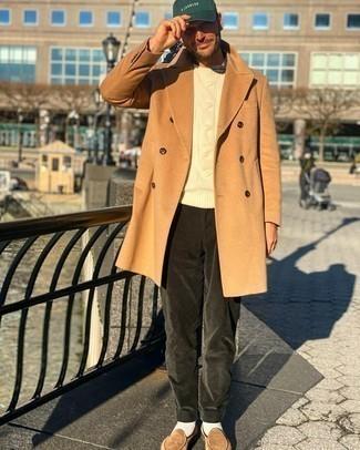 hellbeige Pullover von Boss Orange