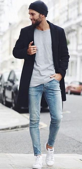 schwarzen zu Mantels Wie niedrige Sneakers mit weiße m8vNnwO0