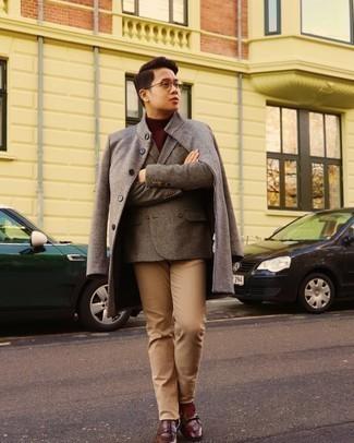 Dunkelroten Pullover kombinieren – 607+ Herren Outfits 2020