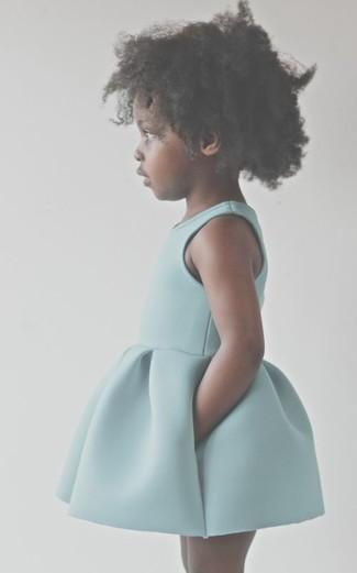 Wie kombinieren: mintgrünes Kleid