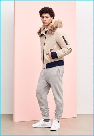 weiße Leder niedrige Sneakers von Hide&Jack