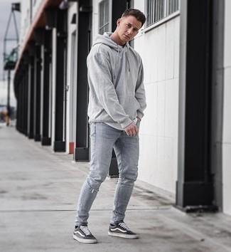 grauer Pullover von Maerz