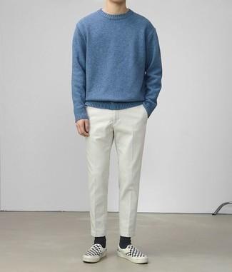blauer Pullover von Get The Trend
