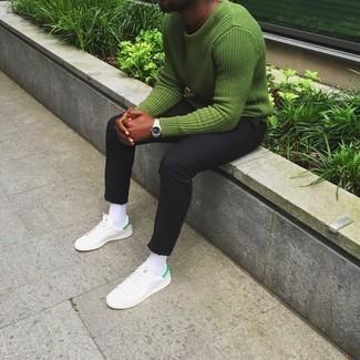 grüner Pullover von Gant