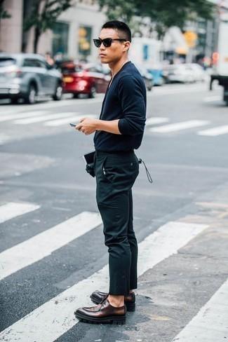 dunkelblauer Pullover von RageIT