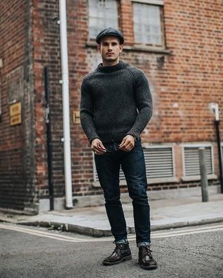 dunkelgrauer Pullover von Jack & Jones