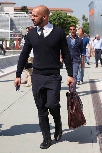schwarzer Pullover von Herrlicher