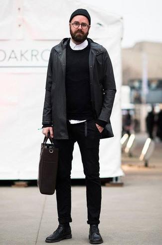 schwarzer Überzug von Pepe Jeans