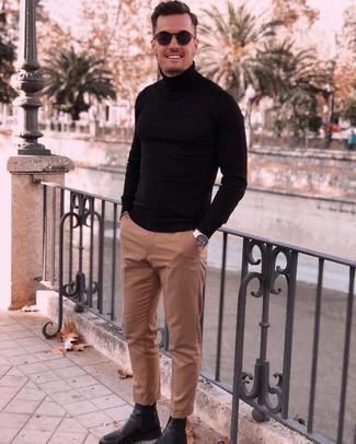schwarzer Pullover von Get The Trend