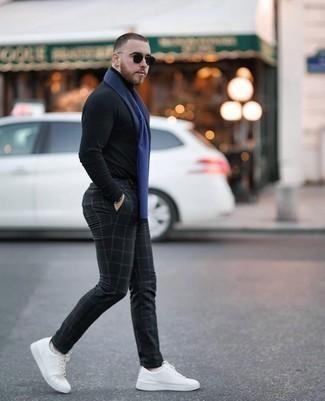 schwarzer Pullover von Luis Trenker