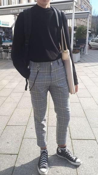 schwarzer Pullover von Shine Original