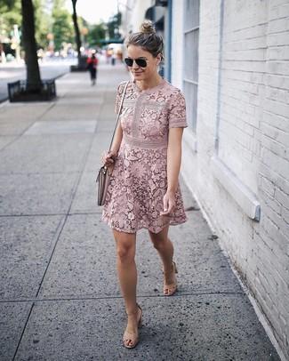 Rosa Kleid für Damen kombinieren: Modetrends und Outfits für ...