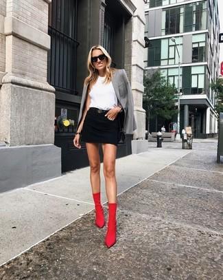 Outfits Kombinieren257 Für DamenDamenmode Stiefel Rote qSVMzUpG