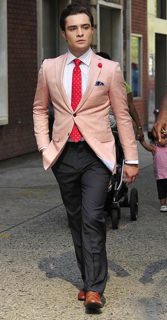 Sakko businesshemd anzughose brogues krawatte einstecktuch large 993