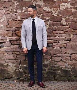 Dunkelrote Business Schuhe kombinieren (297 Outfits für