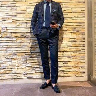 30 Jährige: Wie blaue Hose mit dunkelblauen Sakkos zu