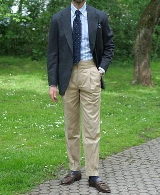 dunkelgraue Jacke von Giesswein