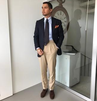 dunkelblaue Jacke von Boss Orange