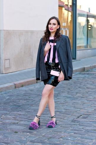 dunkelgraues Sakko von Dolce & Gabbana