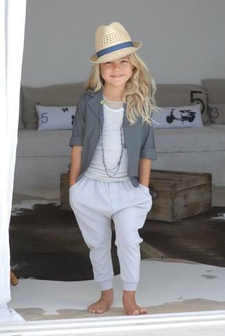 weiße Hose von Armani Junior