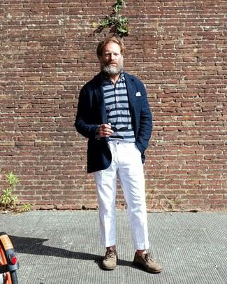 dunkelblaue Jacke von Tiffosi