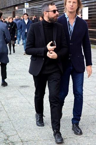 schwarzer Pullover von RageIT