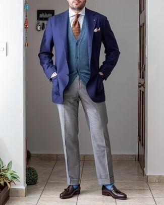 blauer Pullover von Boss Orange