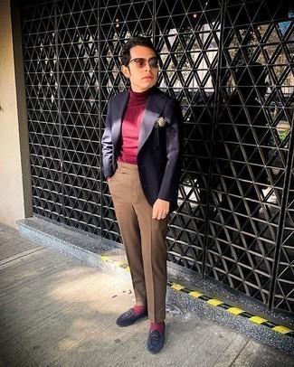 dunkelroter Pullover von Tommy Hilfiger